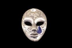 Broche mascara carnaval