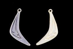Colgante boomerang