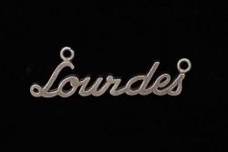 Colgante Lourdes con dos...