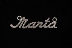 Colgante Marta con dos anillas