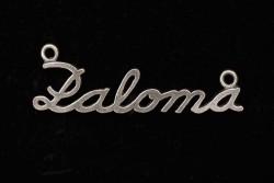 Colgante Paloma con dos anilla