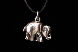 Colgante elefante y cordón